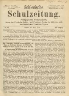 Schlesische Schulzeitung, 1895, Jg. 24, Nr. 25