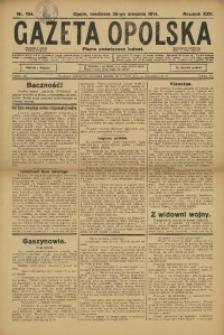 Gazeta Opolska, 1914, R. 25, nr 134