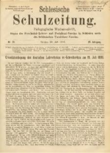Schlesische Schulzeitung, 1896, Jg. 25, Nr. 31