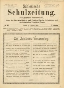 Schlesische Schulzeitung, 1896, Jg. 25, Nr. 40