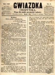 Gwiazdka Cieszyńska, 1859, nr3
