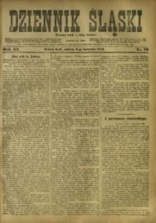 Dziennik Śląski, 1908, R. 11, nr 79