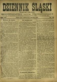 Dziennik Śląski, 1908, R. 11, nr 85