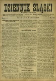 Dziennik Śląski, 1908, R. 11, nr 92