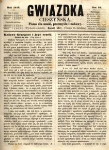 Gwiazdka Cieszyńska, 1859, nr16