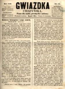 Gwiazdka Cieszyńska, 1859, nr18