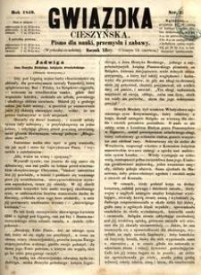 Gwiazdka Cieszyńska, 1859, nr25