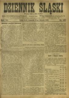 Dziennik Śląski, 1908, R. 11, nr 197