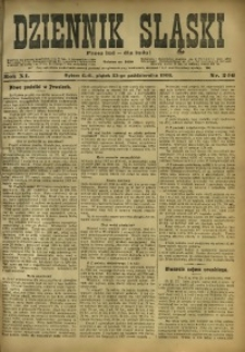 Dziennik Śląski, 1908, R. 11, nr 246