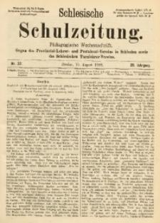 Schlesische Schulzeitung, 1899, Jg. 28, Nr. 32