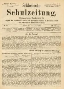 Schlesische Schulzeitung, 1899, Jg. 28, Nr. 51