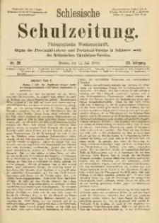 Schlesische Schulzeitung, 1900, Jg. 29, Nr. 28