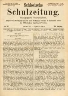 Schlesische Schulzeitung, 1900, Jg. 29, Nr. 37