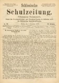 Schlesische Schulzeitung, 1900, Jg. 29, Nr. 49