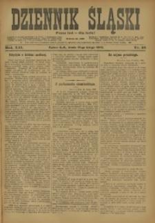 Dziennik Śląski, 1909, R. 12, nr 38