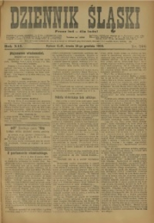 Dziennik Śląski, 1909, R. 12, nr 286