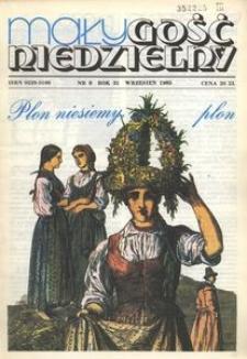 Mały Gość Niedzielny, 1985, R. 31, nr 9