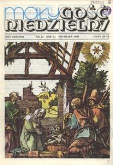 Mały Gość Niedzielny, 1985, R. 31, nr 12