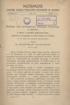 Kosmos, 1927, R. 52, nr 1 / 2
