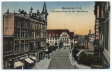 Hindenburg O.-S. Dorotheenstrasse mit der Ueberführung