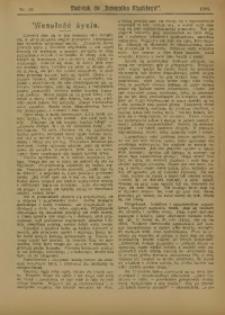 """Dodatek do """"Dziennika Śląskiego"""", 1909, nr 18"""