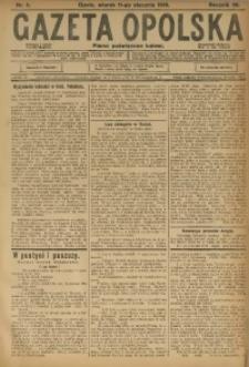 Gazeta Opolska, 1916, R. 26 [właśc. 27], nr 5