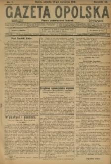 Gazeta Opolska, 1916, R. 26 [właśc. 27], nr 7