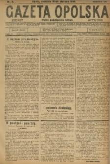 Gazeta Opolska, 1916, R. 26 [właśc. 27], nr 8
