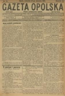 Gazeta Opolska, 1916, R. 26 [właśc. 27], nr 14