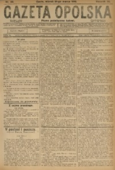 Gazeta Opolska, 1916, R. 26 [właśc. 27], nr 44