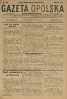 Gazeta Opolska, 1916, R. 26 [właśc. 27], nr 129