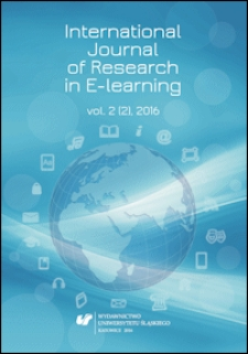 International Journal of Research in E-learning. Vol. 2 (2), 2016