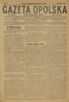 Gazeta Opolska, 1917, R. 27 [właśc. 28], nr 6