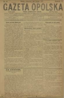 Gazeta Opolska, 1917, R. 27 [właśc. 28], nr 18
