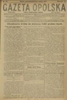 Gazeta Opolska, 1917, R. 27 [właśc. 28], nr 20