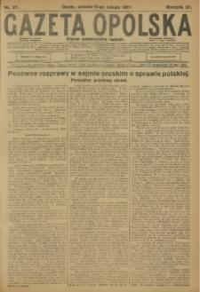 Gazeta Opolska, 1917, R. 27 [właśc. 28], nr 27
