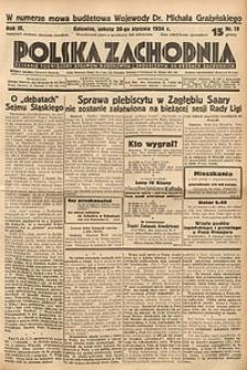 Polska Zachodnia, 1934, R. 9, nr19