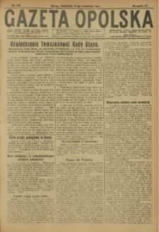 Gazeta Opolska, 1917, R. 27 [właśc. 28], nr 59