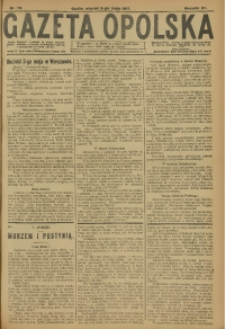 Gazeta Opolska, 1917, R. 27 [właśc. 28], nr 72