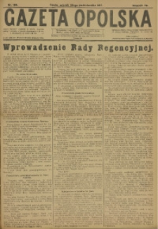 Gazeta Opolska, 1917, R. 28, nr 169