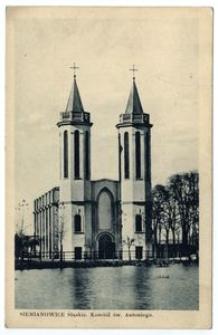 Siemianowice Śląskie. Kościół św. Antoniego