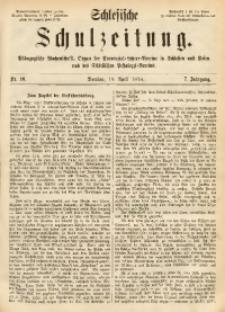 Schlesische Schulzeitung, 1878, Jg. 7, Nr. 16