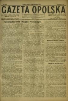 Gazeta Opolska, 1918, R. 28 [właśc. 29], nr 18