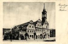 Kreuzburg, O.-S. Rathaus