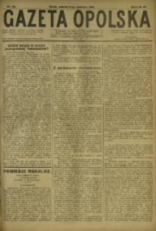 Gazeta Opolska, 1918, R. 28 [właśc. 29], nr 84