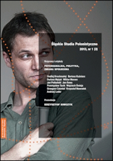 Śląskie Studia Polonistyczne : nr 1 (3) / 2013