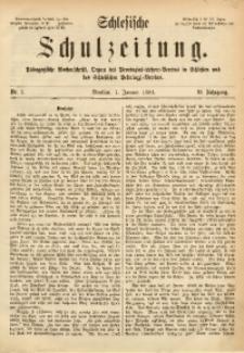 Schlesische Schulzeitung, 1881, Jg. 10, Nr. 1