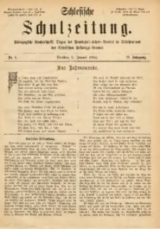 Schlesische Schulzeitung, 1882, Jg. 11, Nr. 1