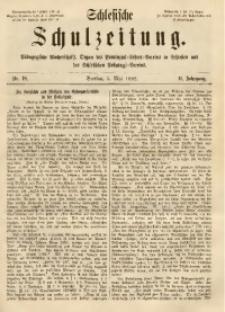 Schlesische Schulzeitung, 1882, Jg. 11, Nr. 18