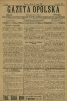 Gazeta Opolska, 1912, R. 24 [właśc. 23], nr 59